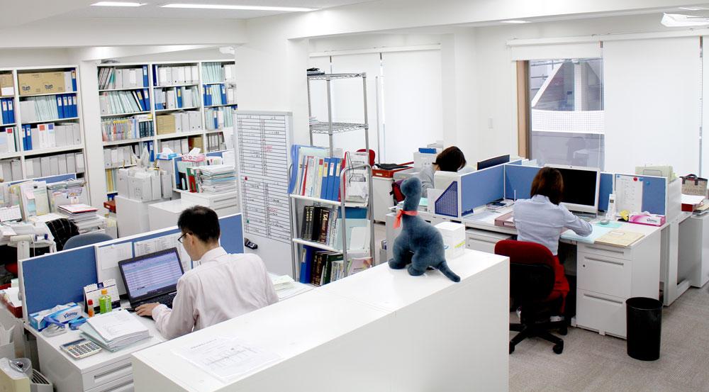 事務所の様子1-田中義幸公認会計士事務所