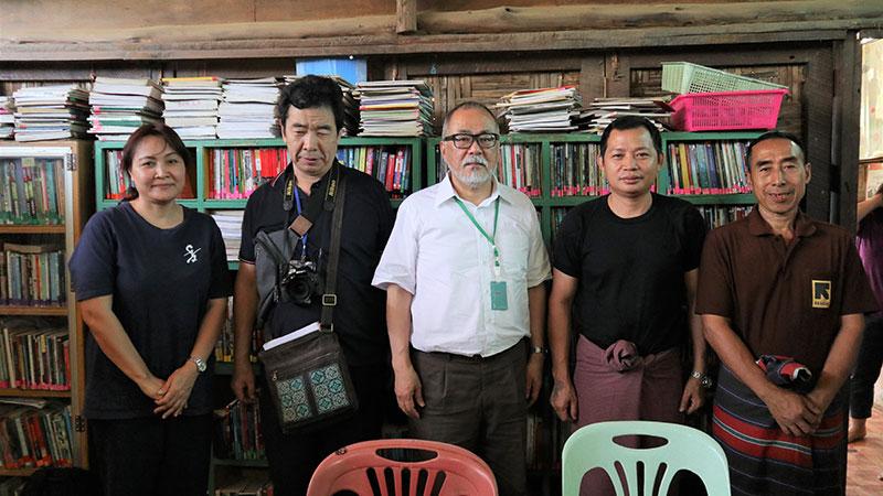 ビルマ難民キャンプにて(2019年5月)-田中義幸公認会計士事務所